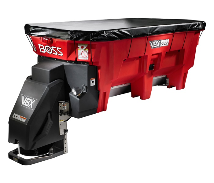 BOSS SNOWPLOW VBX8000 V-Box Salt Spreader Image