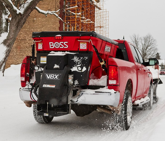 BOSS SNOWPLOW VBX9000 V-BOX SALT SPREADER Image