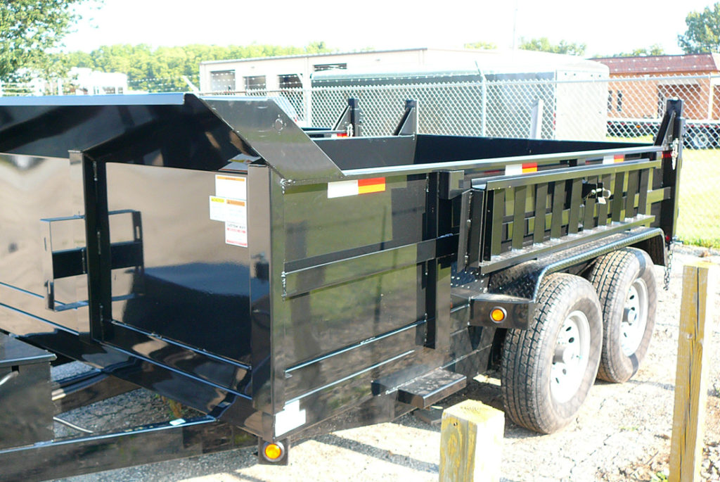 RENTAL TRAILER - GRIFFIN 83 X 12 DUMP Image