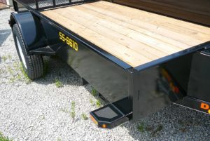 66 x 10 DOOLITTLE SS UTILITY TRAILER Image