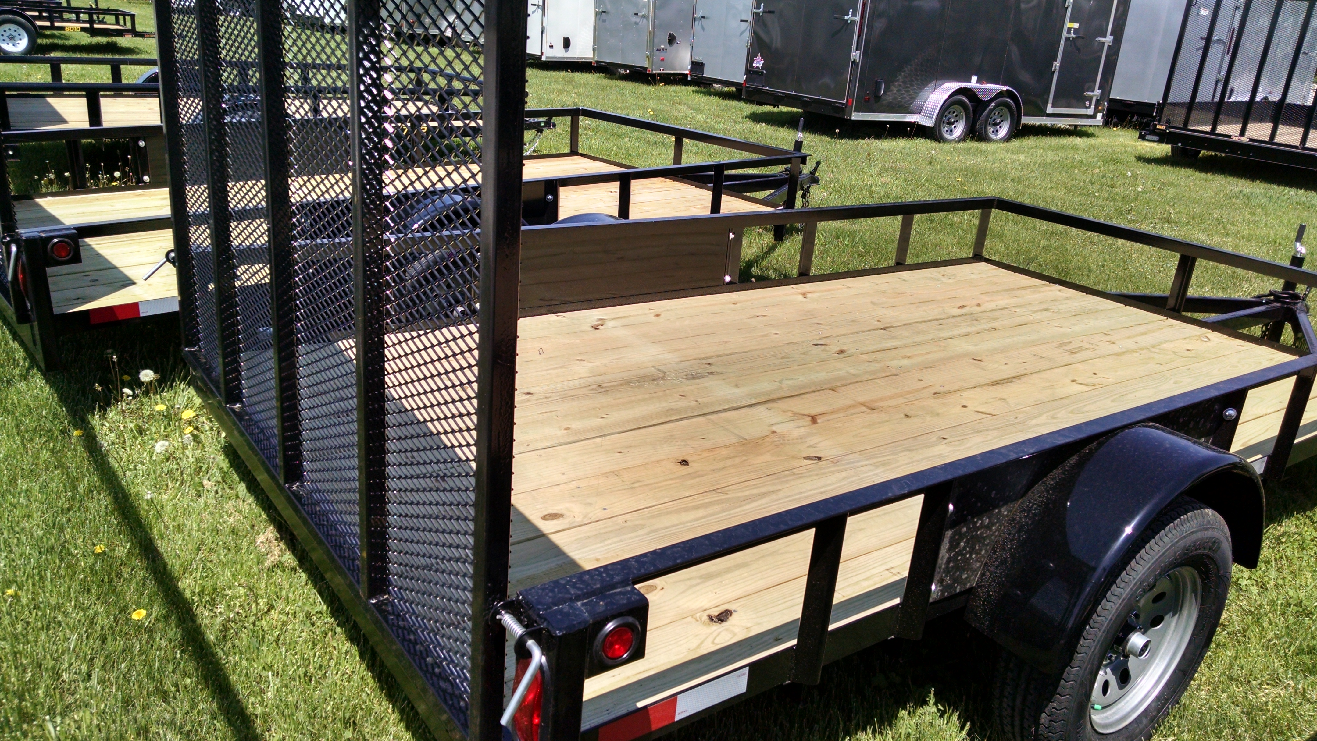 RENTAL TRAILER - GRIFFIN 76 X 12 UTILITY Image