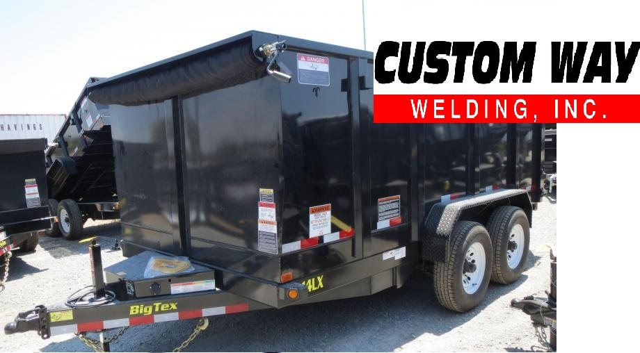 83 x 14 14k BIG TEX 14LX-14 SCISSOR LIFT DUMP W/4