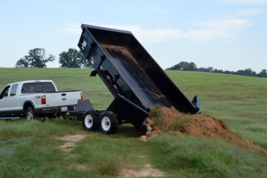 BIG TEX 83×14 SCISSOR LIFT DUMP