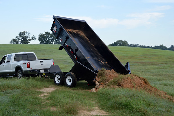 83 x 14 14K BIG TEX 14LX SCISSOR LIFT DUMP Image