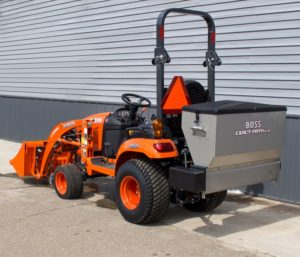 BOSS EXACT PATH 6.0CU. FT DROP SALT SPREADER Image