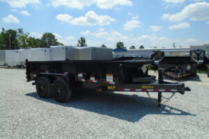 83 x 14 BIG TEX 14LP SCISSOR LIFT DUMP 14K